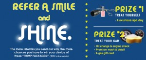 Refer a Smile, and SHINE