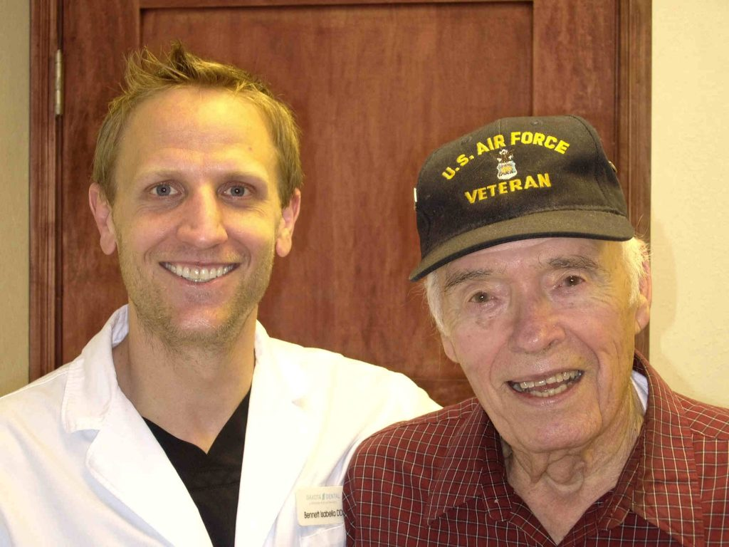 Dakota Dental gives local veteran a healthy smile